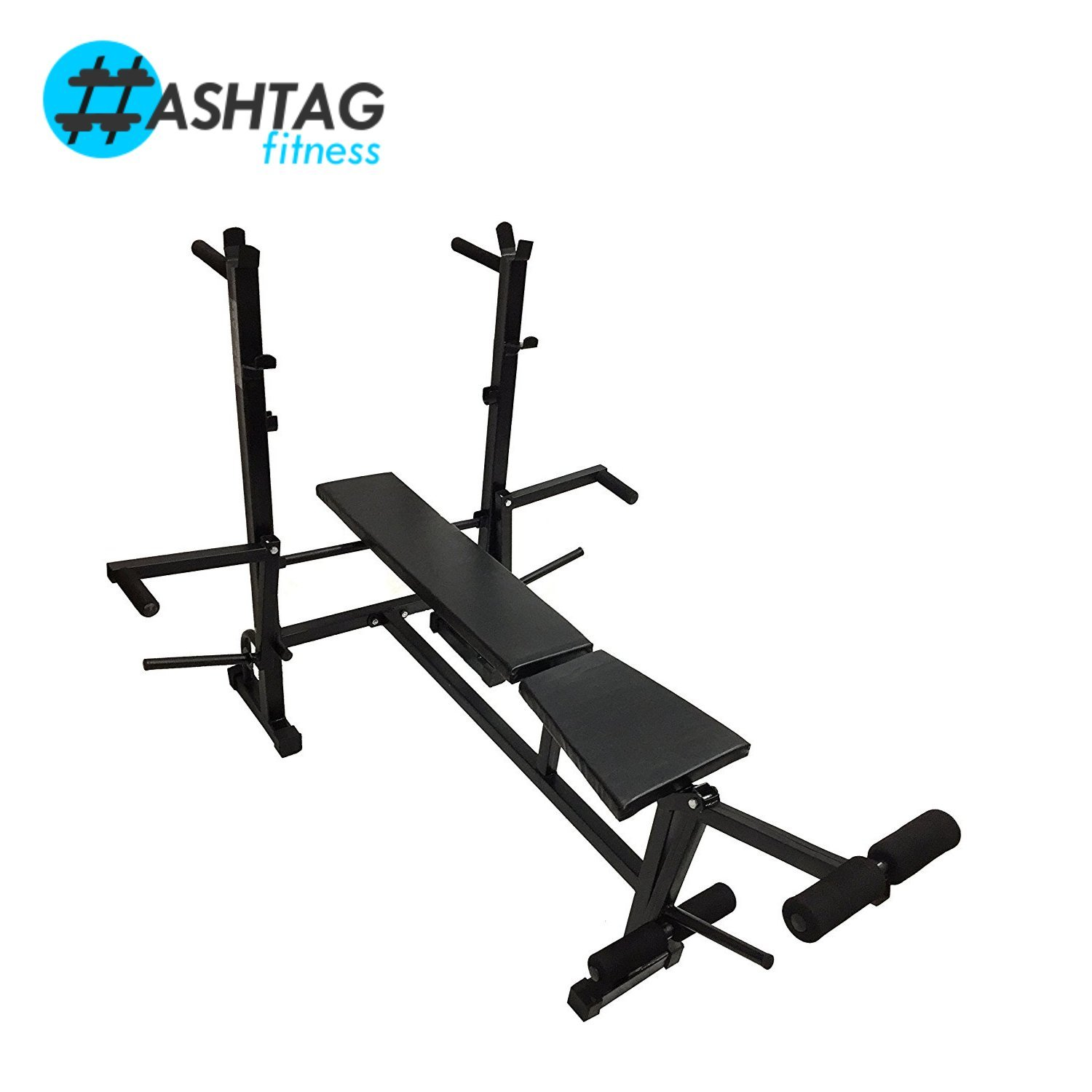 HASHTAG FITNESS   Home gym kit 50 kg rubber with multi gym ...